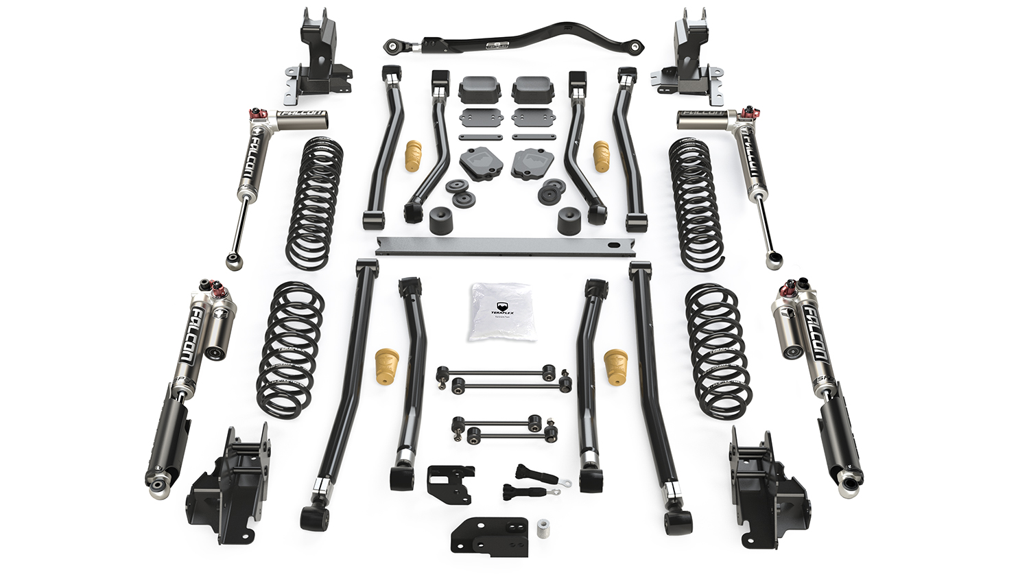 Jeep Jl Long Arm Suspension 3 5 Inch Alpine Ct3 System And