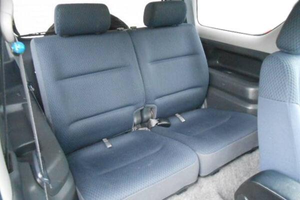ジムニーJB23-4型 XC 後席シート