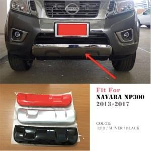 Nissan Frontier Navara Np300 D23 2013-2017 Front Cladding Under Bumper Cover