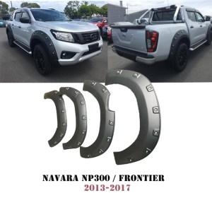 Navara NP300 2014-2017 Fender Flares Wheel Arch