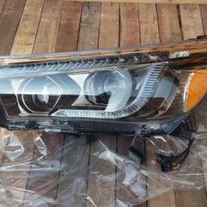 modify head lamp for toyota hilux revo