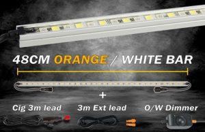 48cm Orange/White LED Kit