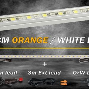 48cm Orange/White LED Kit