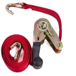 Ratchet Strap 1m J Hook
