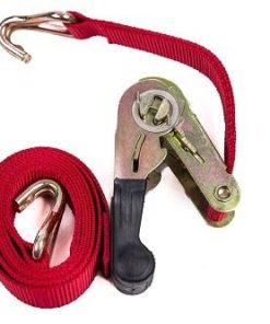 1.5m Ratchet Strap W/J Hook