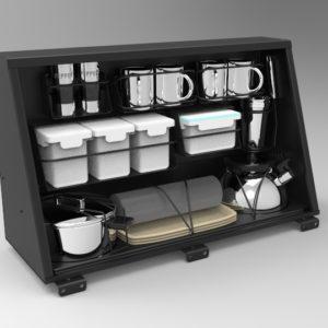 Alu-Cab Kitchen Cupboard