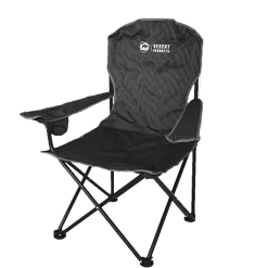Desert Soft Arm Grey Camping Chair