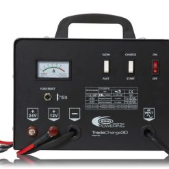 Professional 30A workshop charger with 150A jump starter