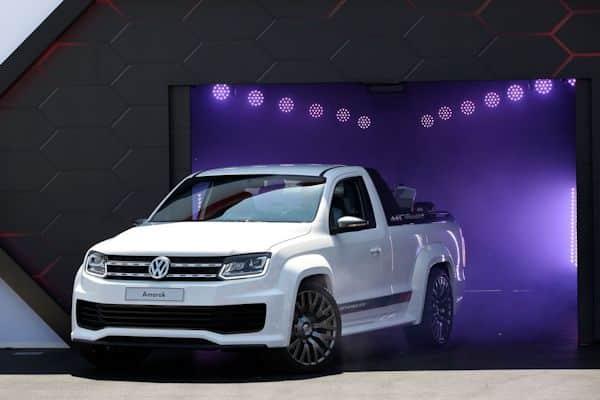 VW Amarok Power-Pickup beim GTI Treffen am Wörthersee
