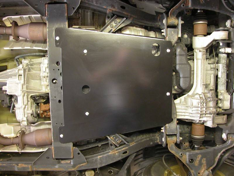 4x4 Parts Skid Row Transmission Skid Plate