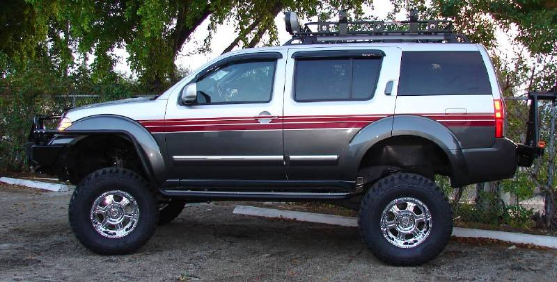 2005 Lift 4x4 3 Pathfinder