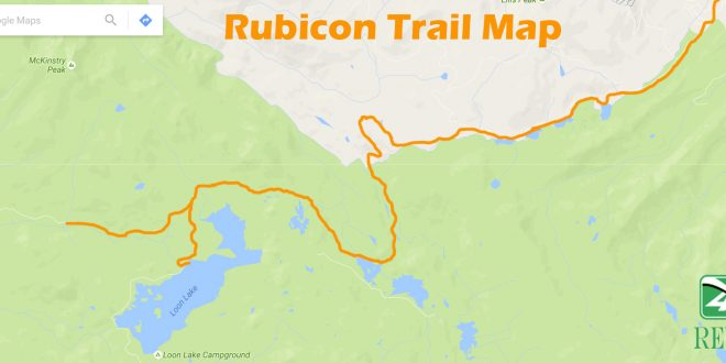 Directions To The Rubicon Trail And Trail Map 4x4review