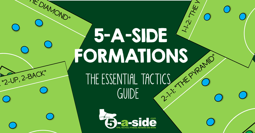 5-a-side Tactics Formations