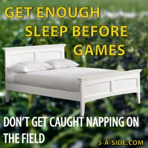 Napping on the Field