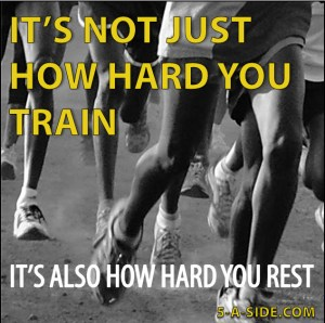 Not just how hard you train
