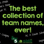 5-a-side Team Names. Funny. Fantasy Football