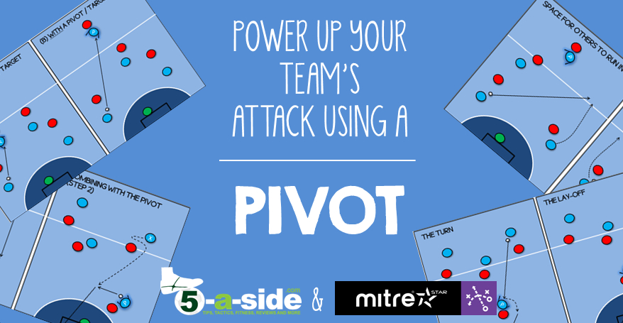 Futsal pivot 5-a-side header