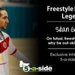 Sean Garnier 5-a-side interview, futsal, skills, neymar,