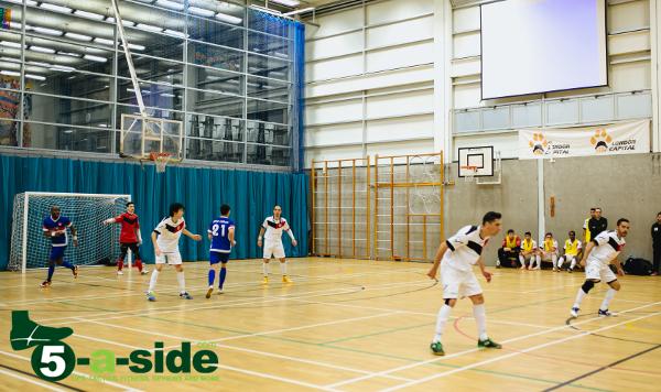 Sean Garnier Futsal Defending 5-a-side