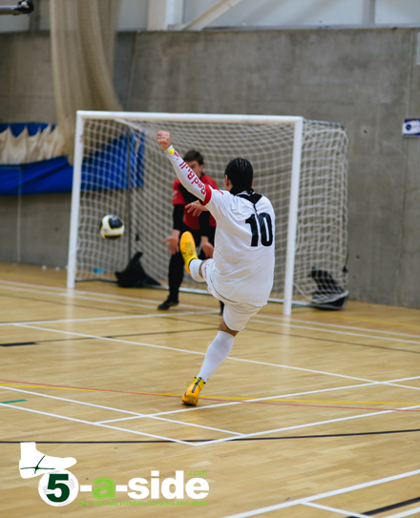 Sean Garnier Futsal Shooting Tips Skills