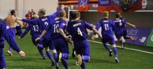 Scotland Minifootball 2014 Celebration