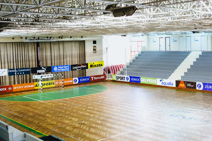 Sporting Lisbon Futsal Stadium Temporary
