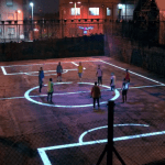 Drone Football Pepsi 5-a-side PitchDrone Football Pepsi 5-a-side Pitch