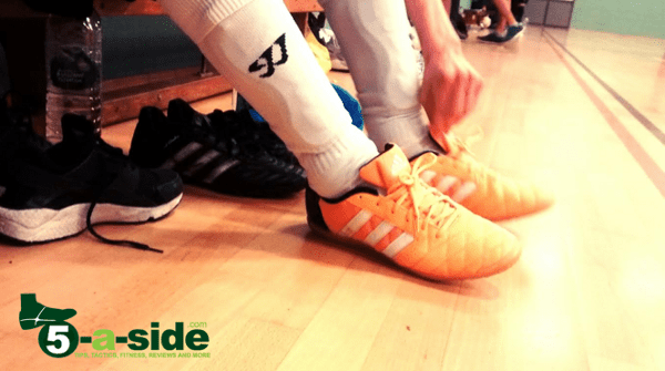 Futsal Tips Shoes Grip Orange