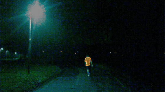 Lamppost fartlek training
