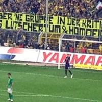 """Lutschertum & Homofick"" – Dortmunder Fan-Poesie"