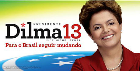 Affiche de la campagne présidentielle d'octobre 2010