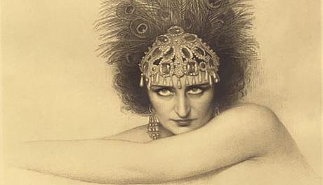 Geneviève Vix dans le rôle-titre de Salomé de Richard Strauss, Palais Garnier, 1926.