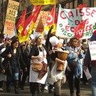 Manifestation des cantinières parisiennes du 22 mars à Paris. © Catherine Capdeville - EGALITE
