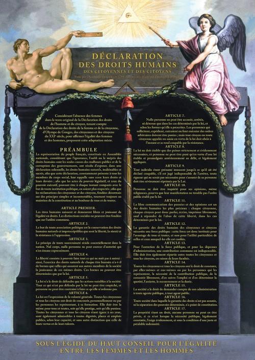 La France : pays des droits de l'Homme ou pays des droits humains ...