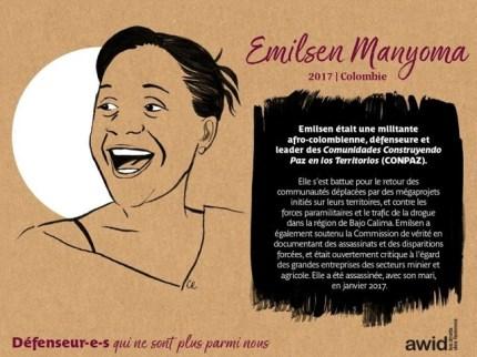 Emilsen Manyonma Colombie