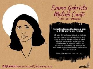 Emma Gabriela Molina Mexique