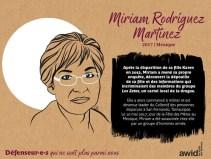 Miriam Rodriguez Mexique