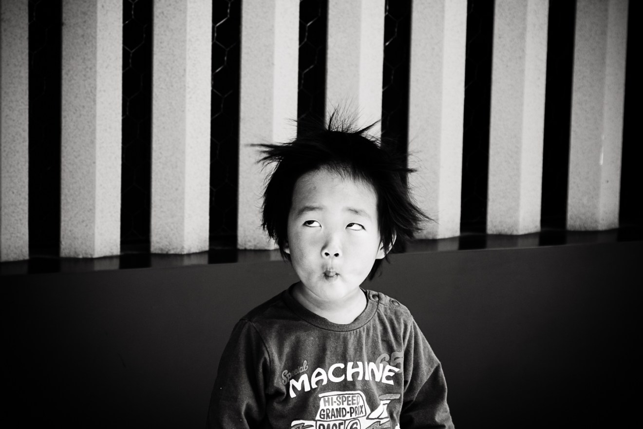 Little boy in Asakusa, Tokyo, Japan