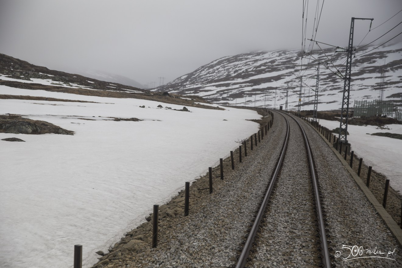 Oslo-Bergen train ride - tracks