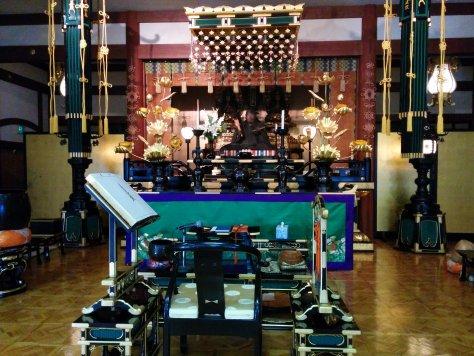 San Jose Temple altar