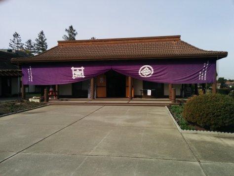 San Jose Temple festooned during 35th Anniversary celebration
