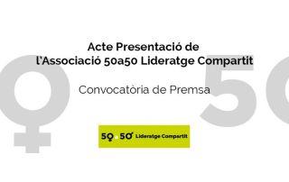Acte presentació de l'Associació 50a50