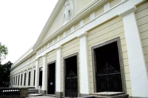 O novo museu fica no bairro de Botafogo, em um casarão do século 18