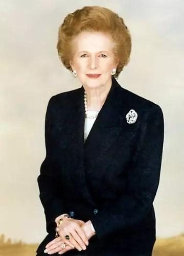 Foi a primeira e única britânica a chegar ao cargo