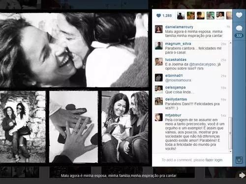 A cantora falou sobre o assunto em uma rede social