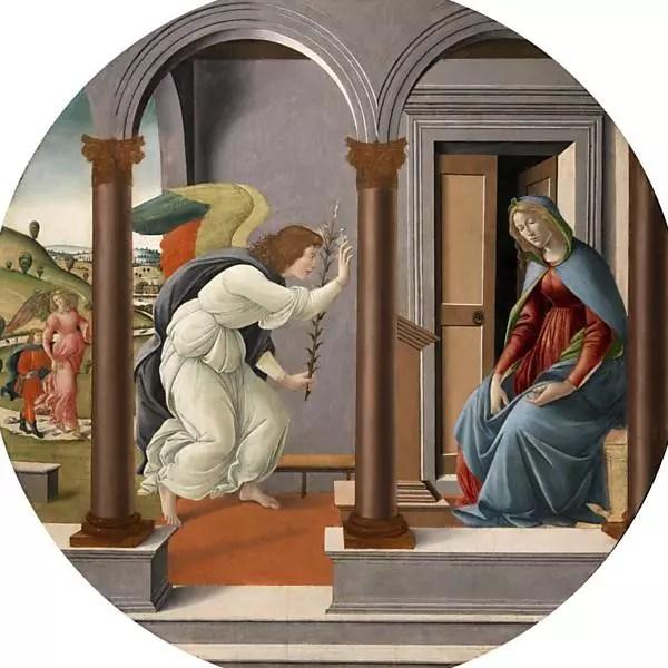 """""""Annunciazione"""", de Sandro Botticelli"""