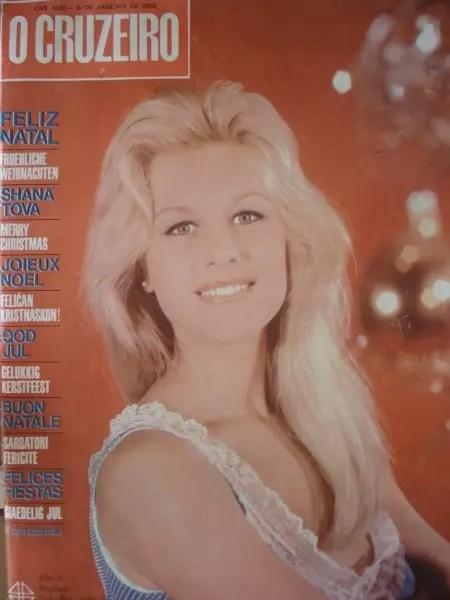 Eleita Miss Guanabara em 1965, Sônia foi capa da revista O Cruzeiro