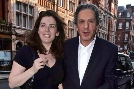 A apresentadora, 53 anos, e Charles Saatchi, 70, eram casados há 10 anos