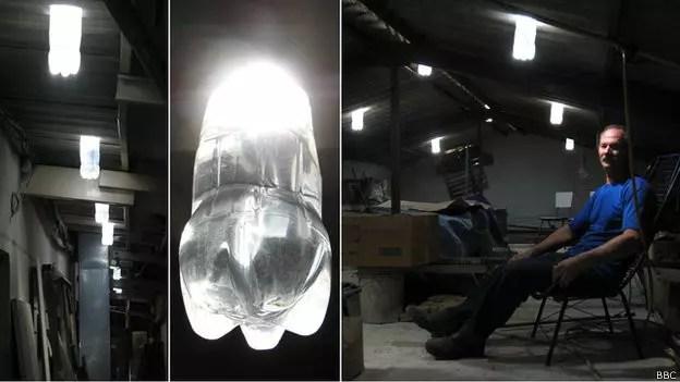 O inventor da luz que funciona sem que se gaste dinheiro