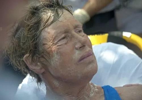 Diana Nayd tentou cinco vezes antes de ter sucesso na travessia